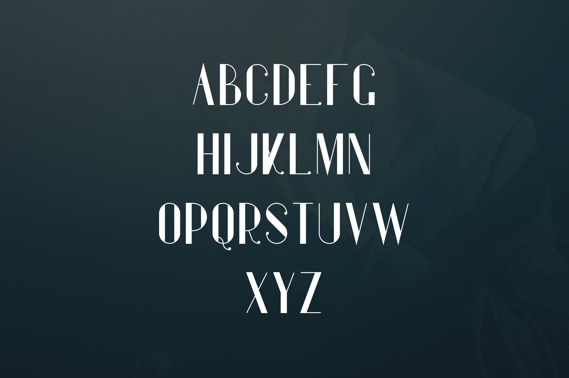 Gentleman font  10 Logo Templates example image 3
