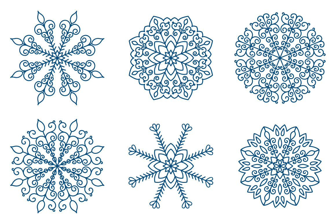 Christmas cards  overlays patterns example image 6