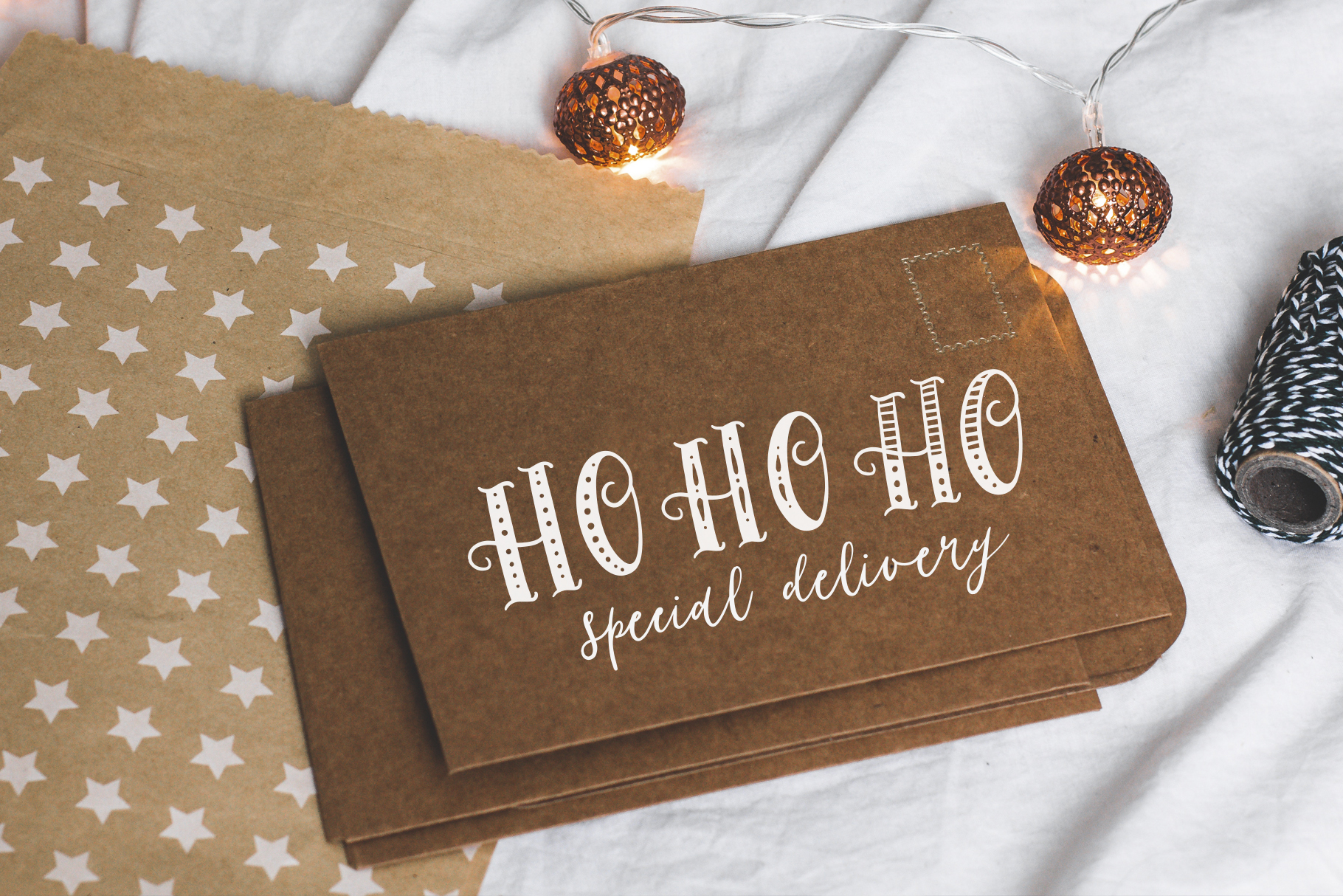 Ho-Ho-Holiday Fonts collection example image 7