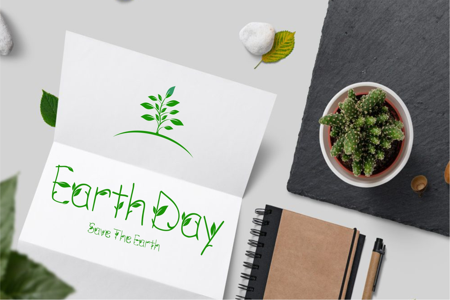 GREEN NATURE FONT example image 10