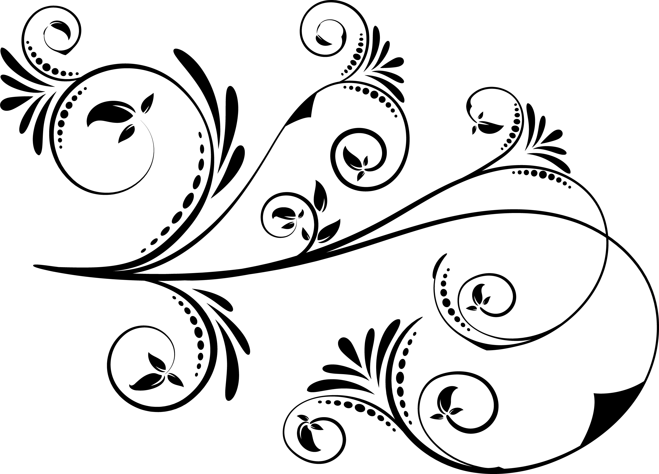 5 Swirl Vectors Svg Dxf Png Jpg Eps vector file Cut Files example image 2
