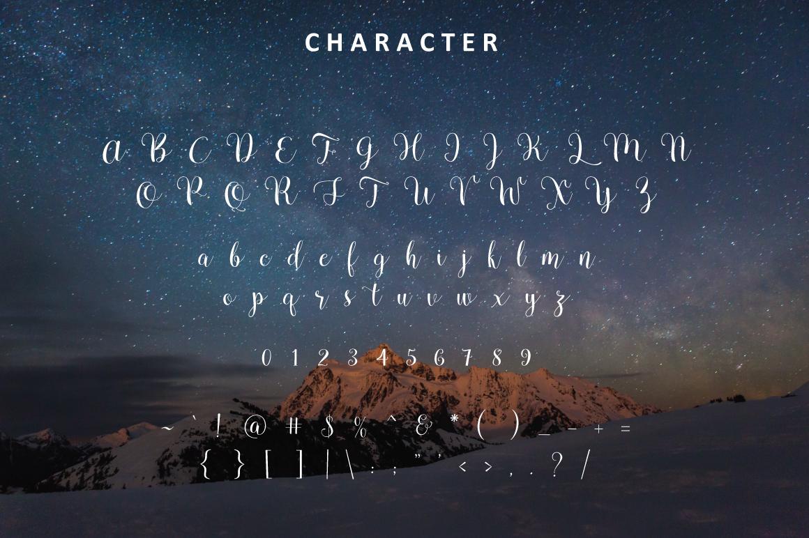 Pradyse Script example image 4