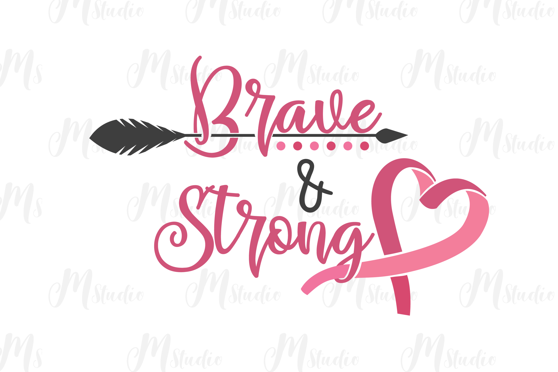 Cancer Awareness bundle SVG example image 21