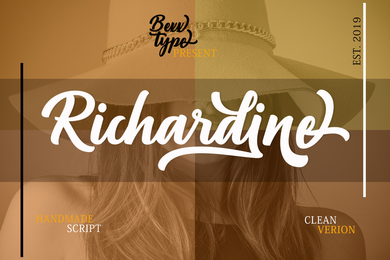 Richardine Script example image 10
