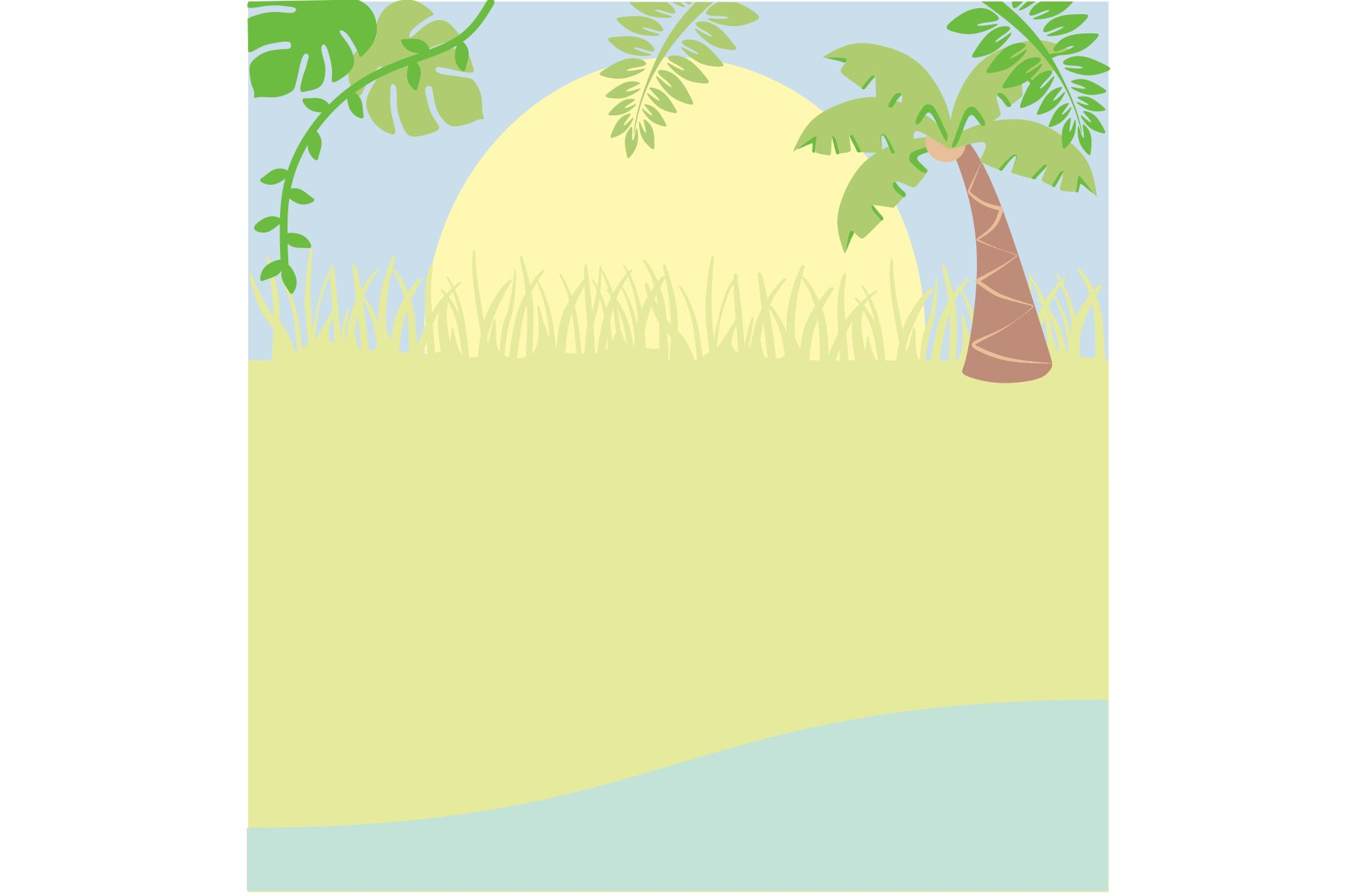 Jungle Animals Clipart example image 3
