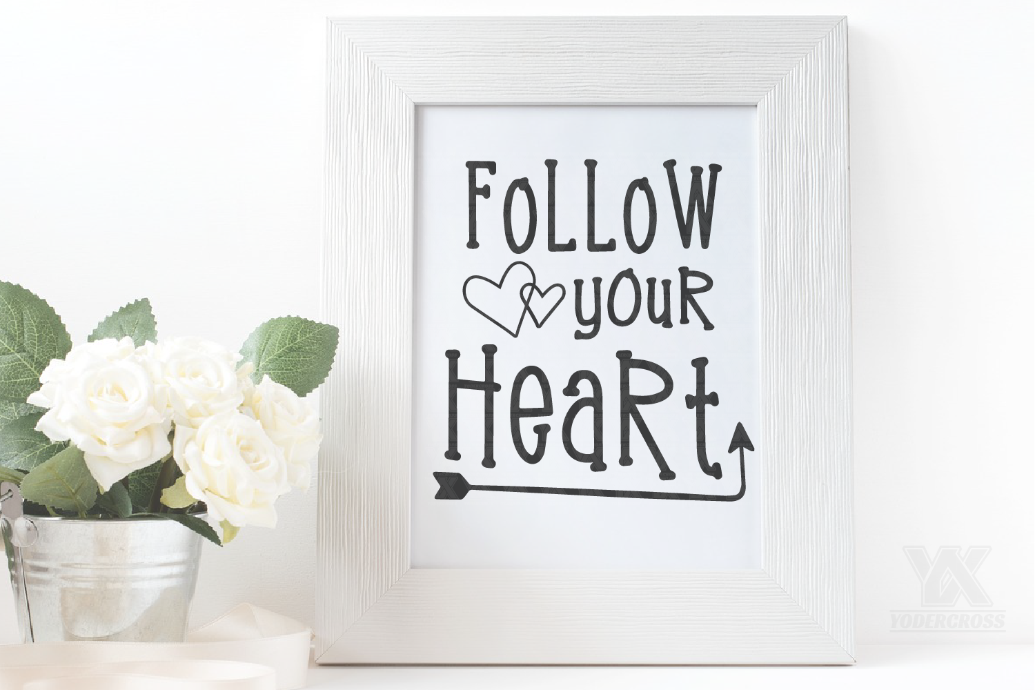 Follow Your Heart SVG example image 2