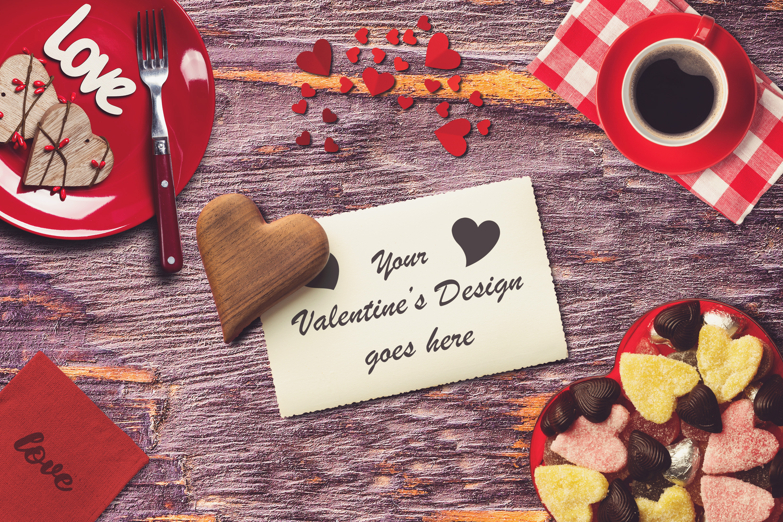 Valentine Card Mock-up #7 example image 1