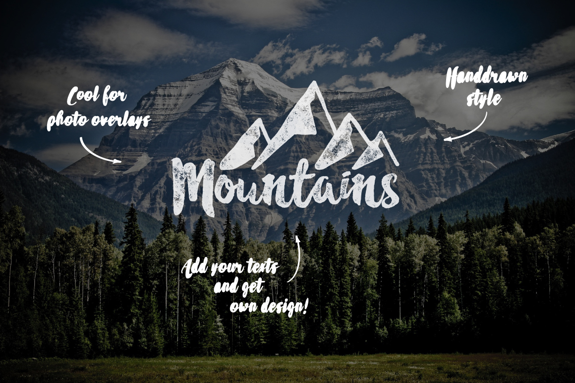 Mountain Shapes Vol.2 example image 4