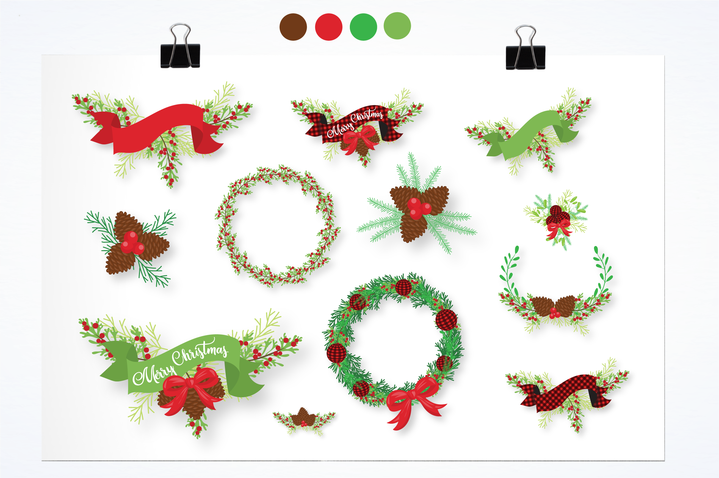 marry Christmas graphics and illustrations example image 2