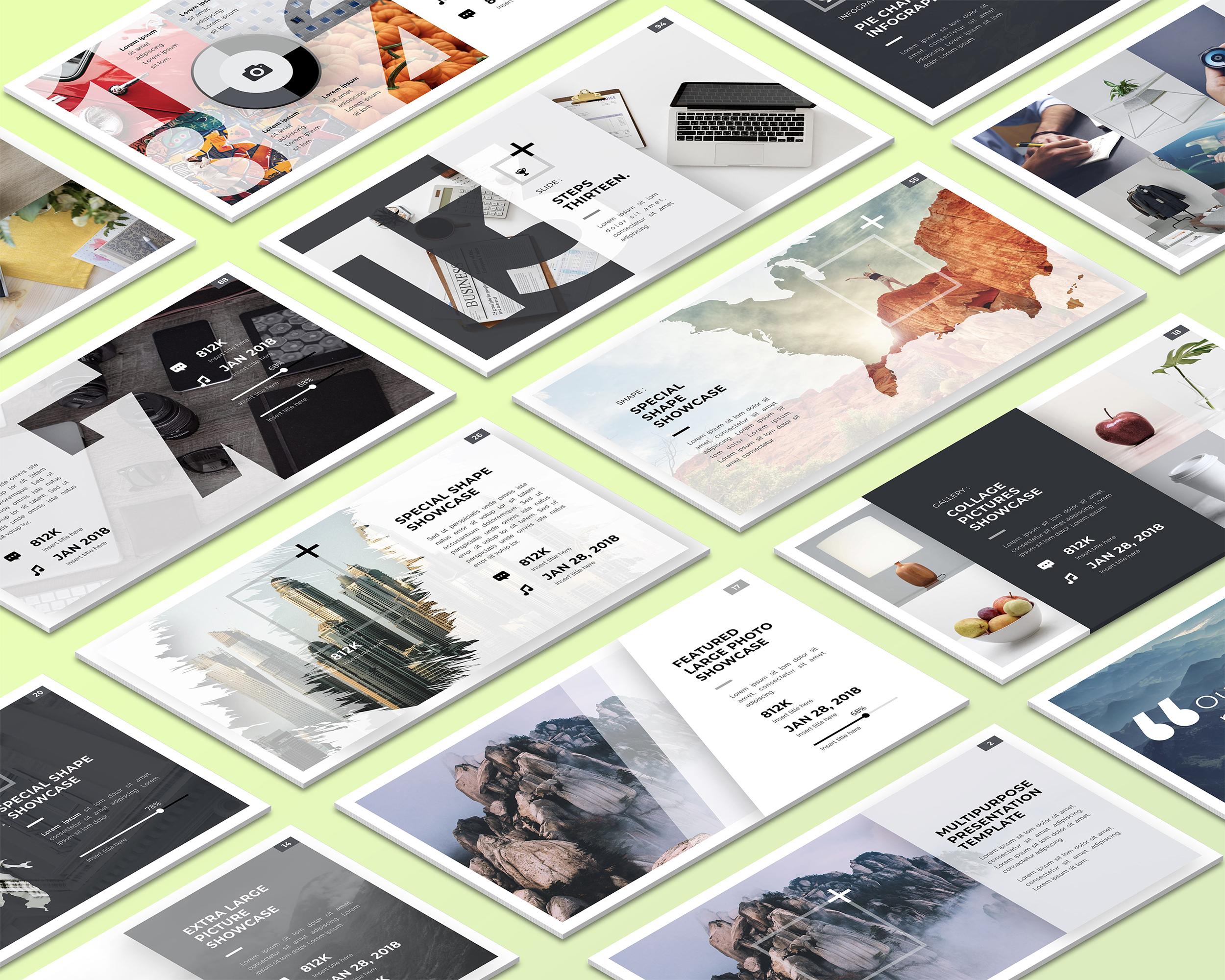 Isometric Desktop Screens Mockup V01 example image 6