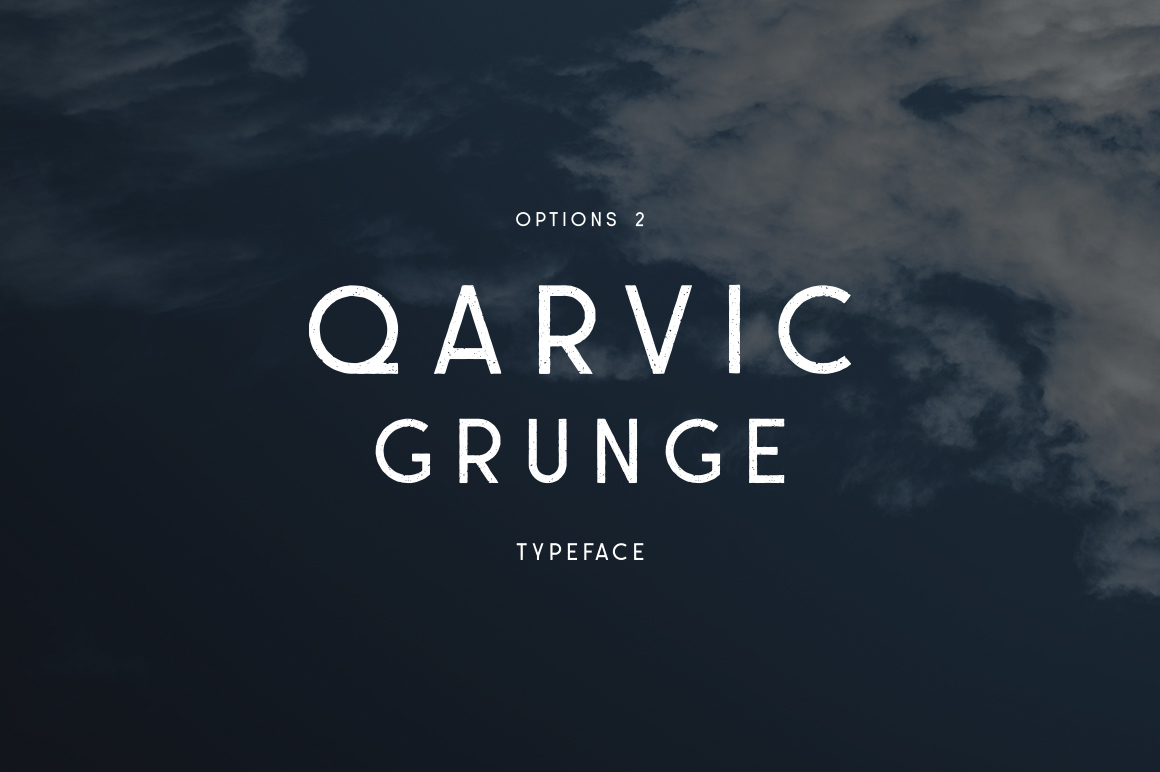 QARVIC Typeface example image 3