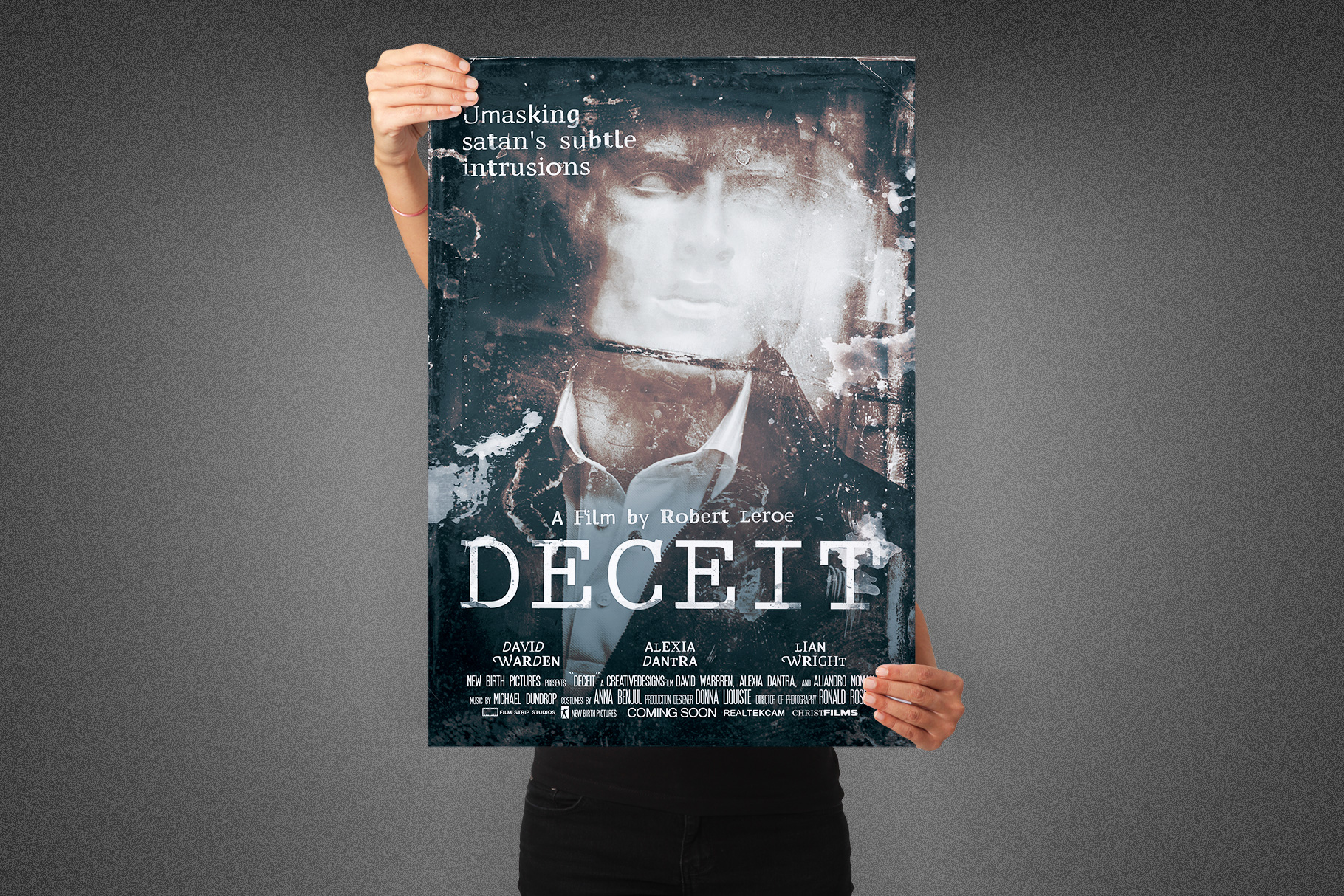Deceit Movie Poster Template example image 6