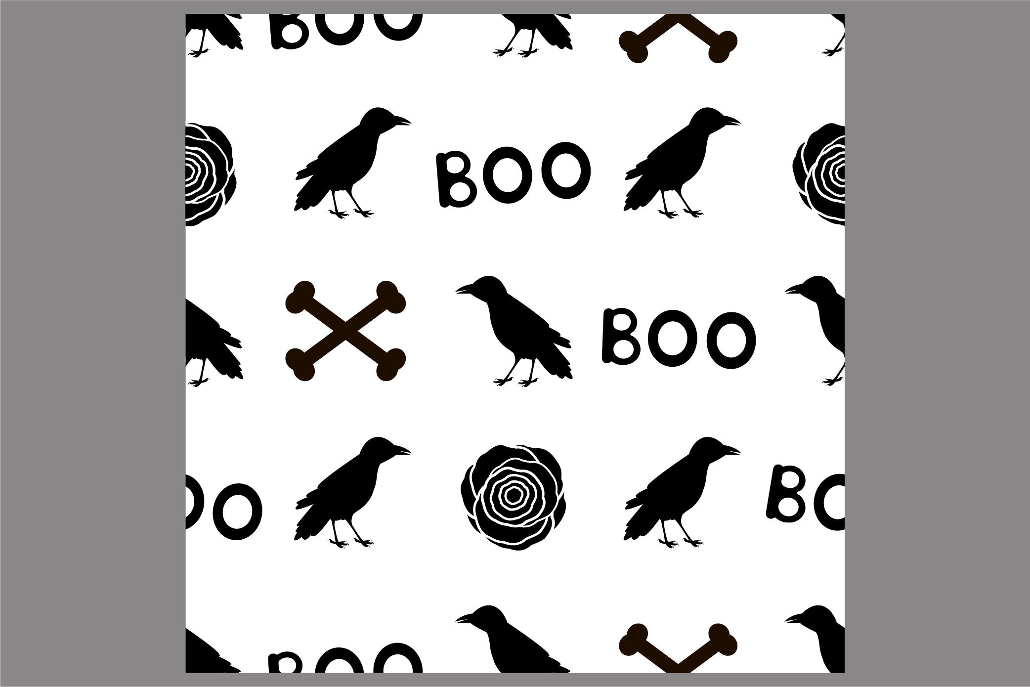 Halloween seamless patterns. Ai, EPS10, JPG, SVG example image 7