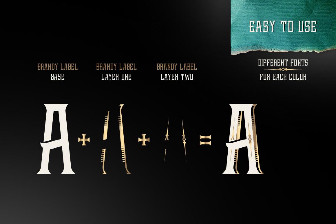 Brandy design set example image 4