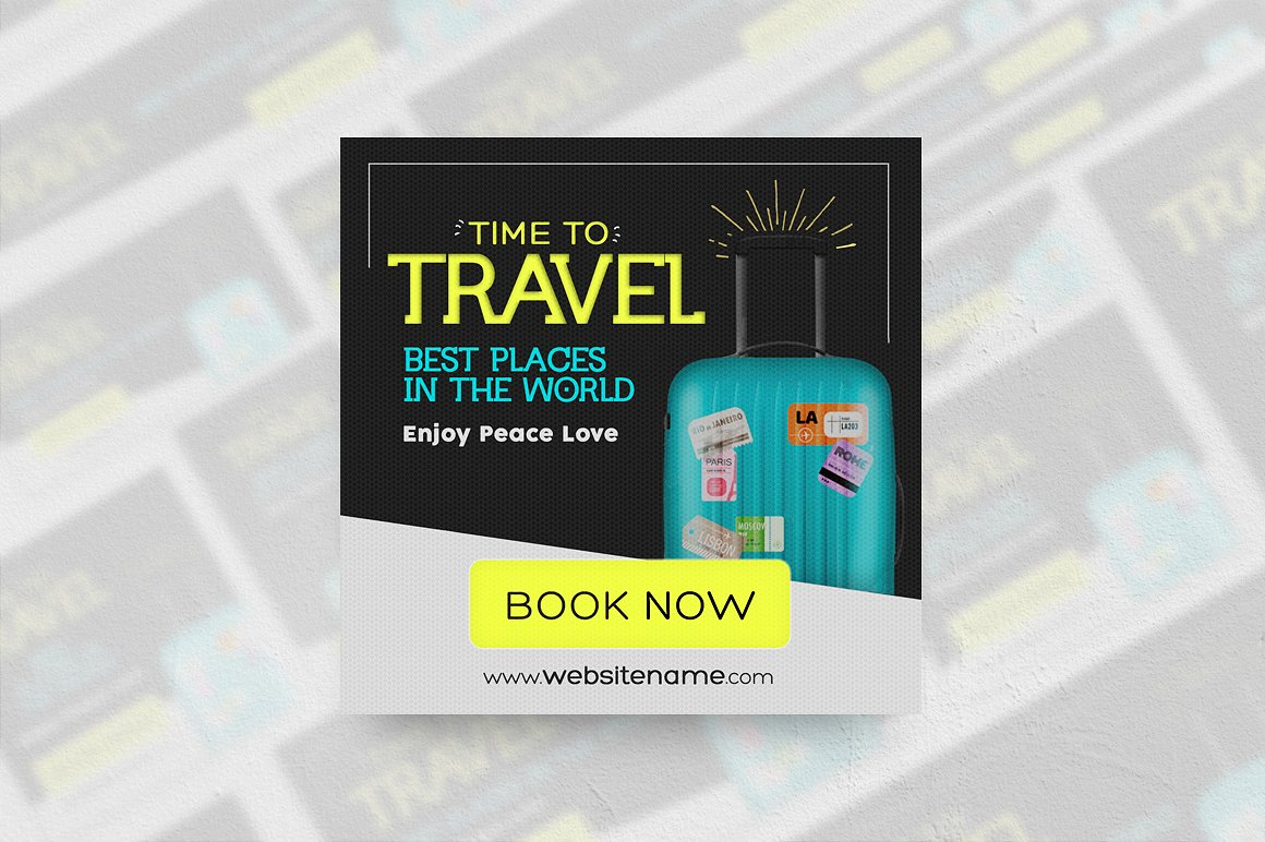 Travel Banner Ads example image 2