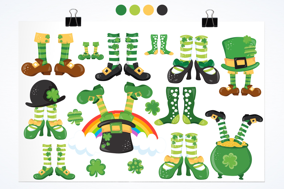 St-Patrick Good Luck graphic and illustrations example image 4