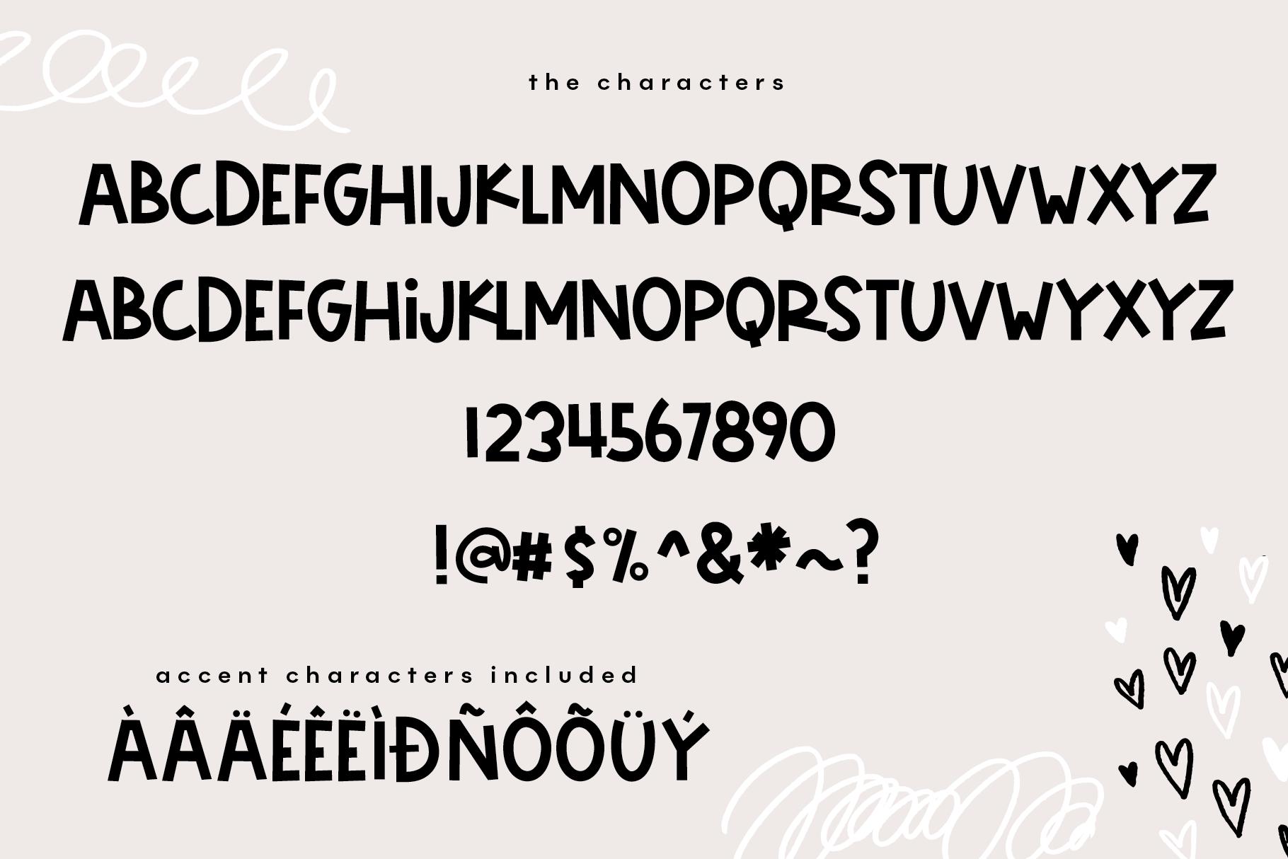 Friendship - A Bold & Cute Handwritten Font example image 7