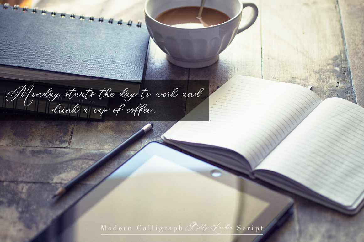 Betty Laudia | Modern Calligraphy example image 8