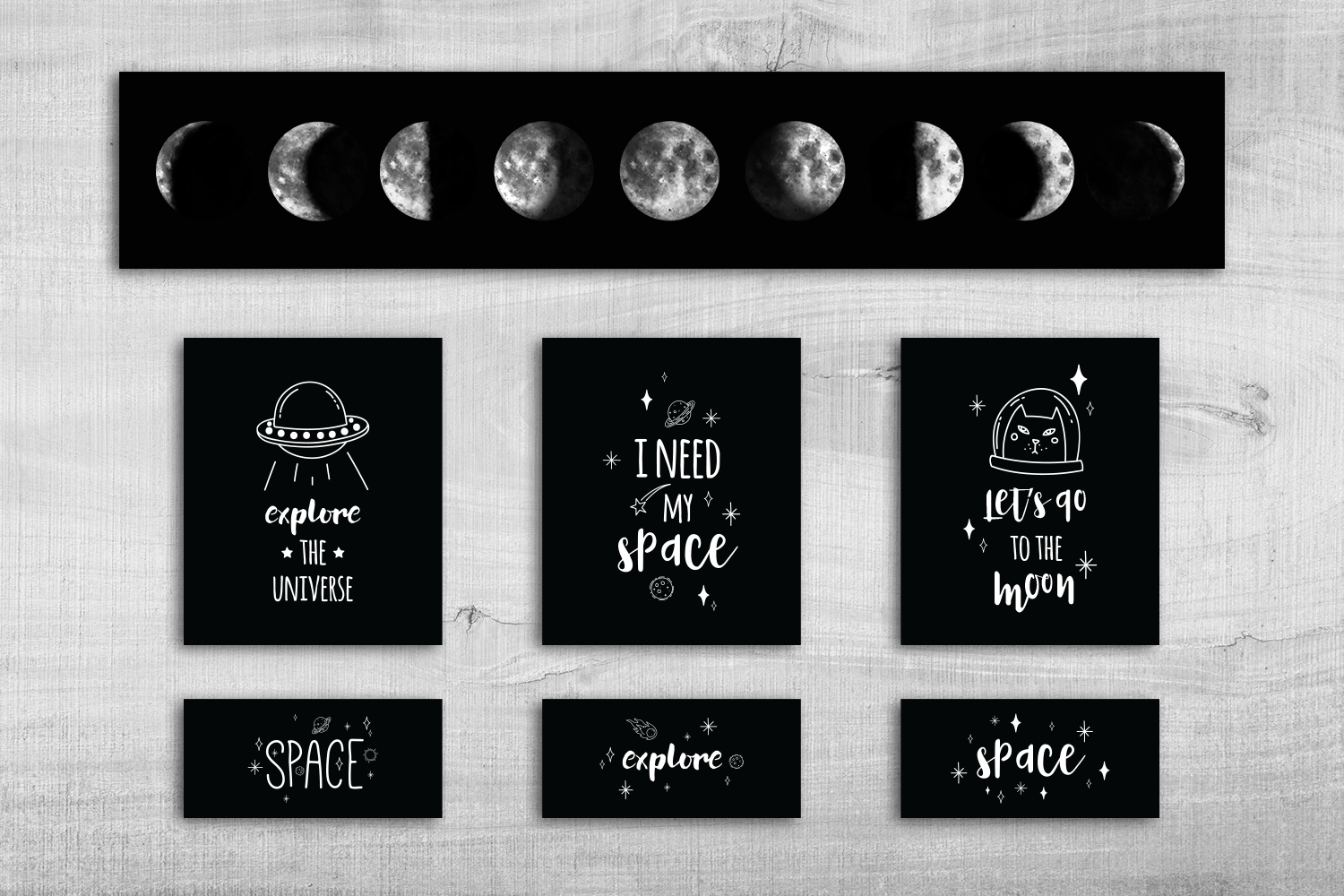 Outer Space Collection example image 5
