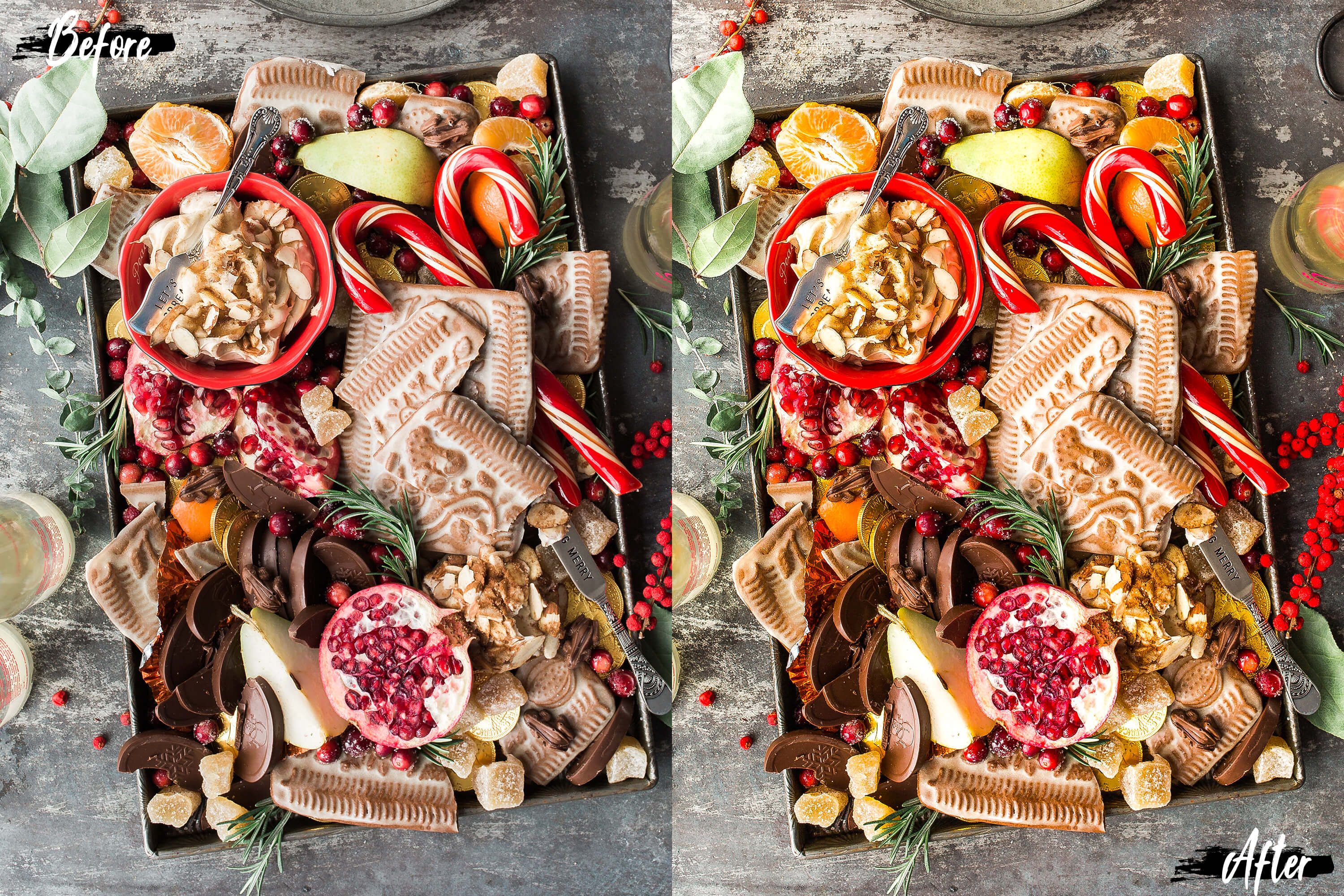 Neo Yummy Food Theme Color Grading photoshop actions example image 3