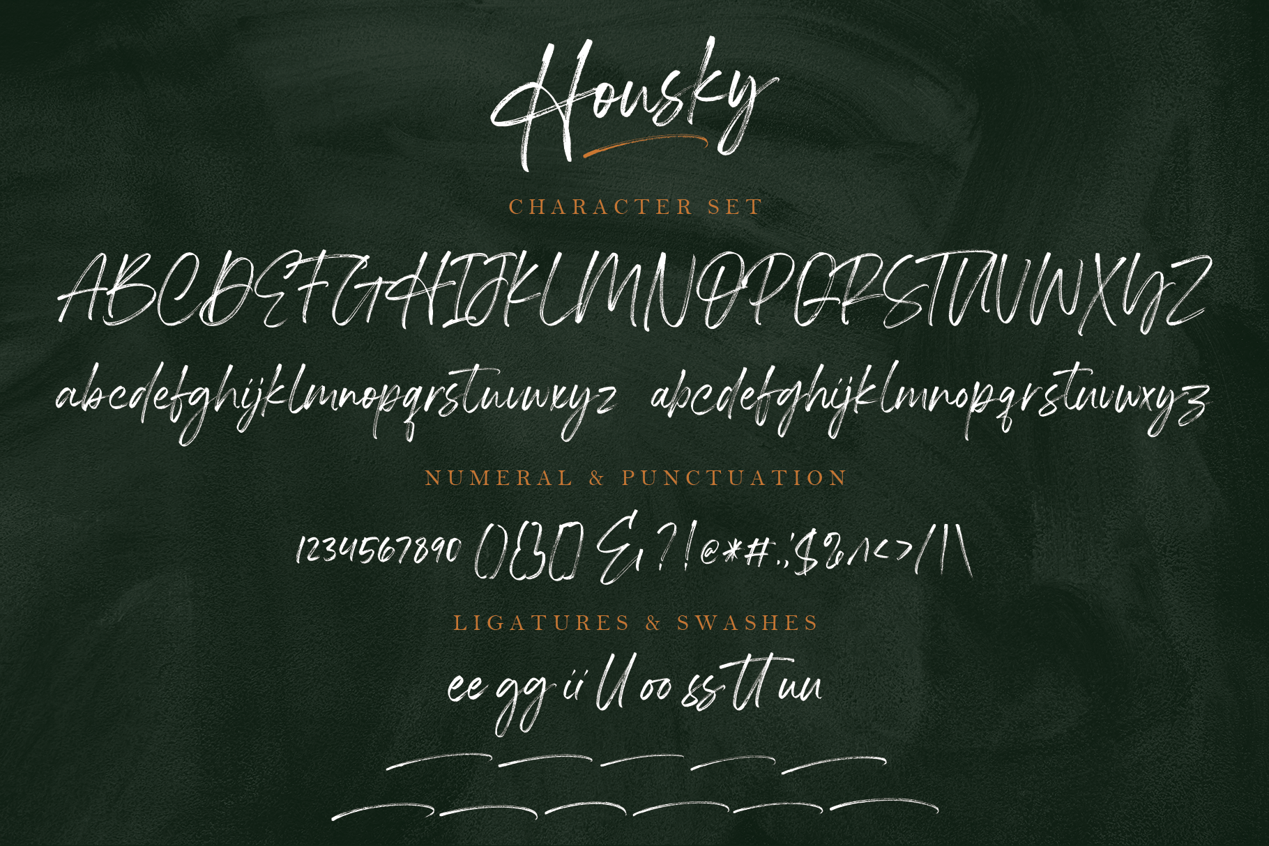 Housky - Handwritten Font example image 12