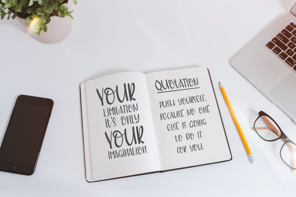 Meritoriously a Cute Quirky Handwritten Font example image 6