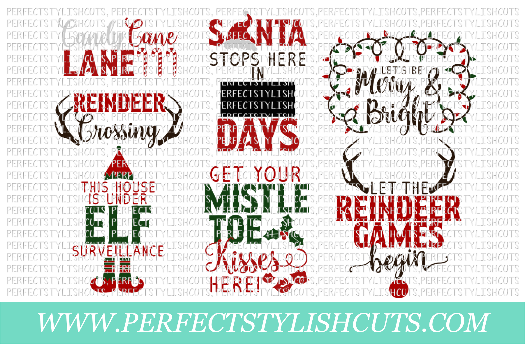 Christmas Wood Sign Designs Collection - Christmas SVG Files example image 2