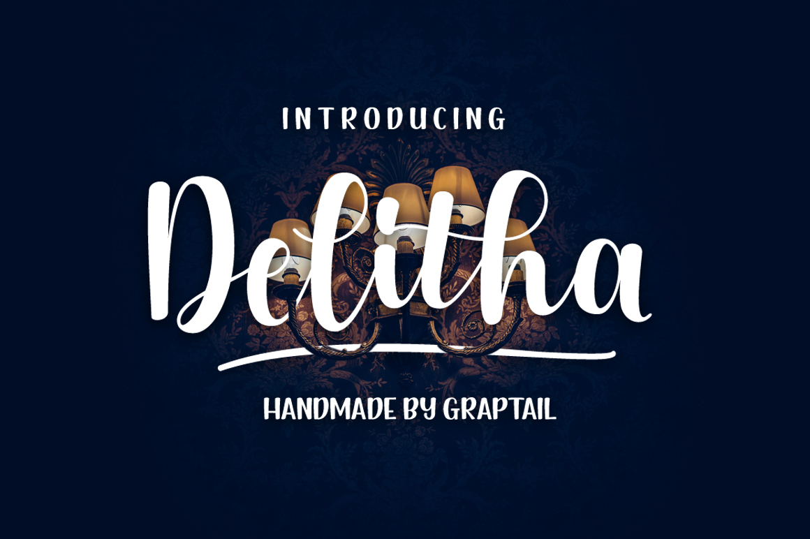 Delitha Font example image 1