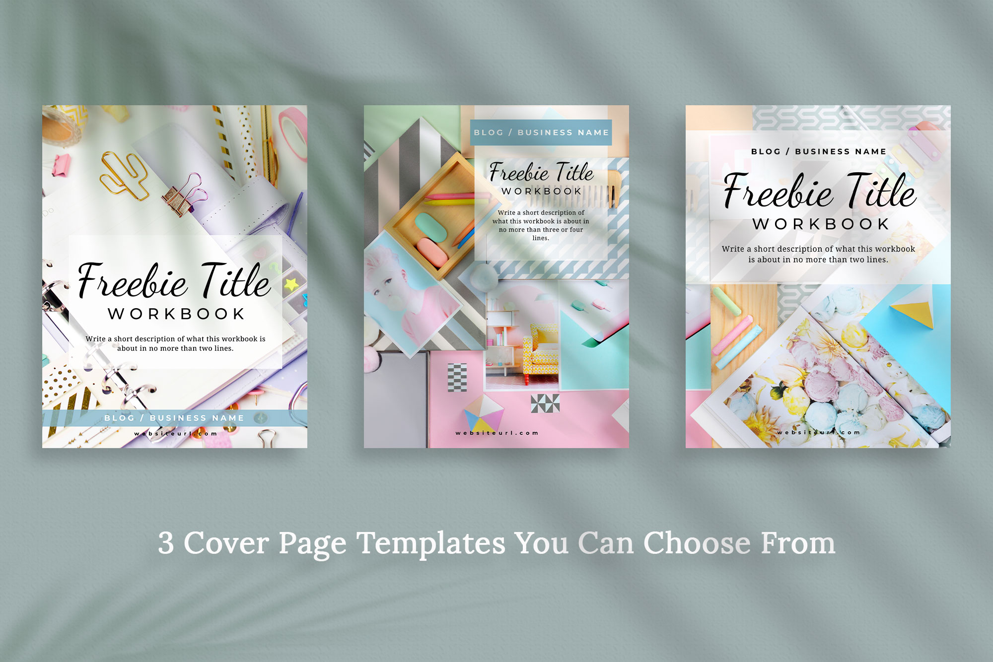 Workbook or Opt-in Freebie Canva Template | Colfax example image 4