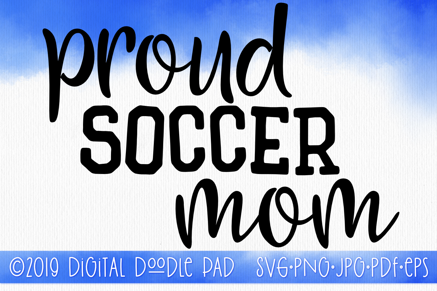 Soccer Mom SVG, Sports SVG example image 1
