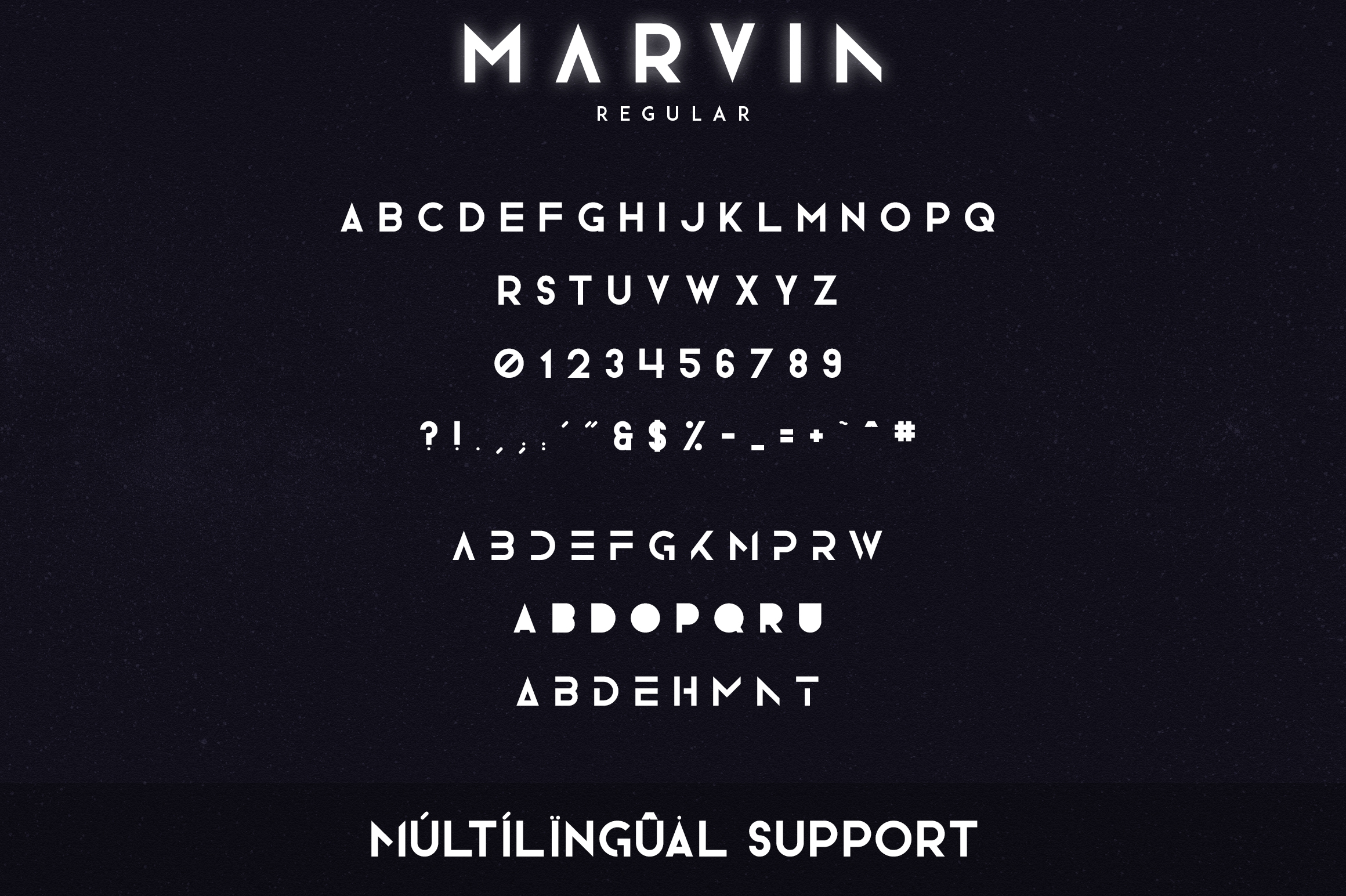 Marvin - 3 font styles example image 9