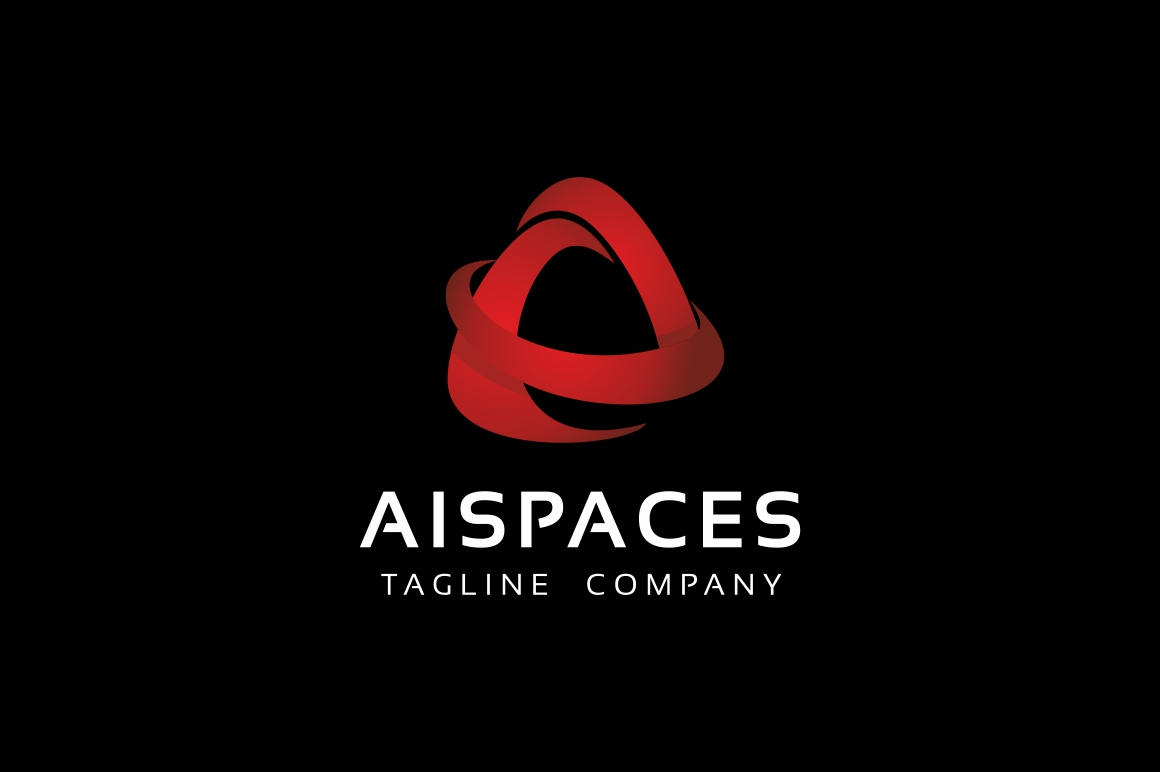 Aispace A Letter Logo example image 2