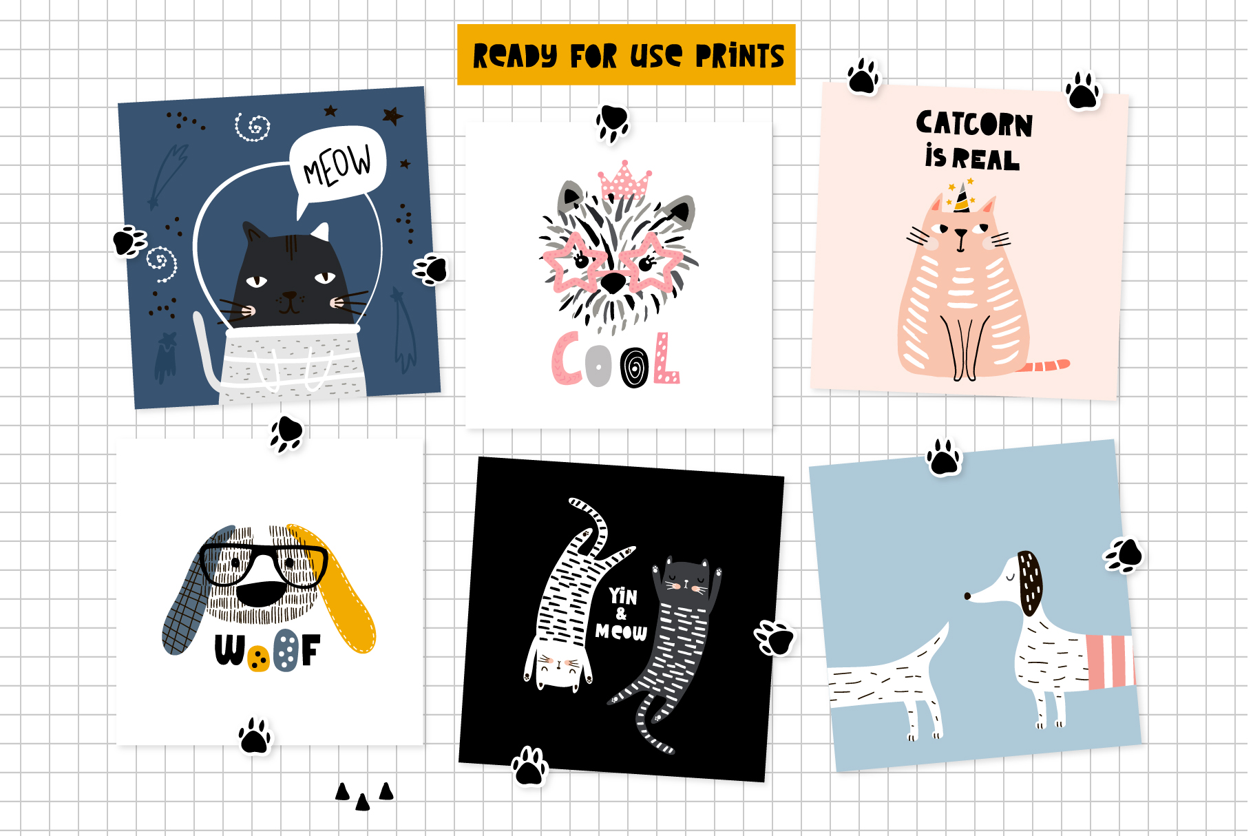 Cats&Dogs graphic collection example image 4