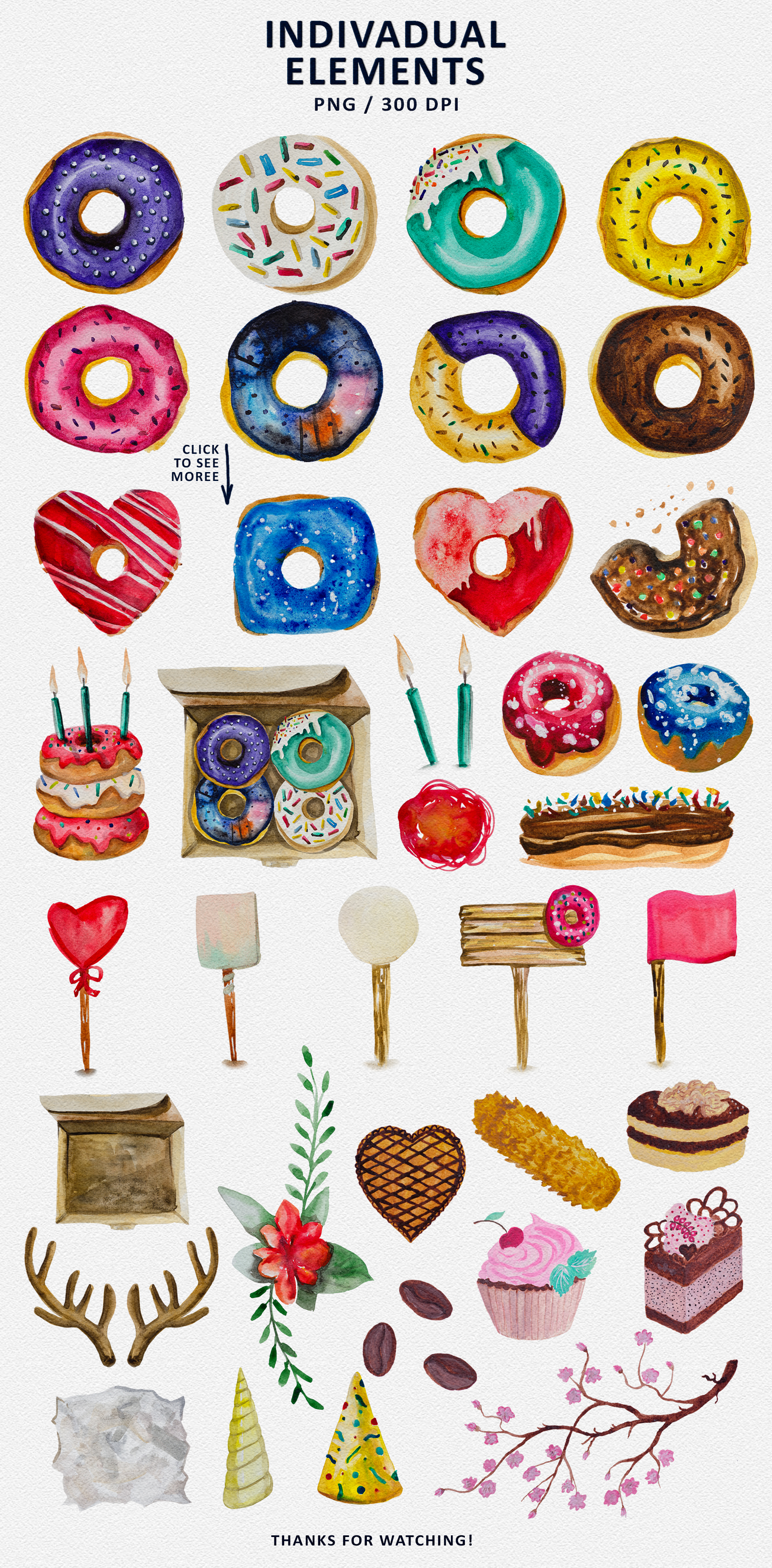 Donuts and Sweets example image 4