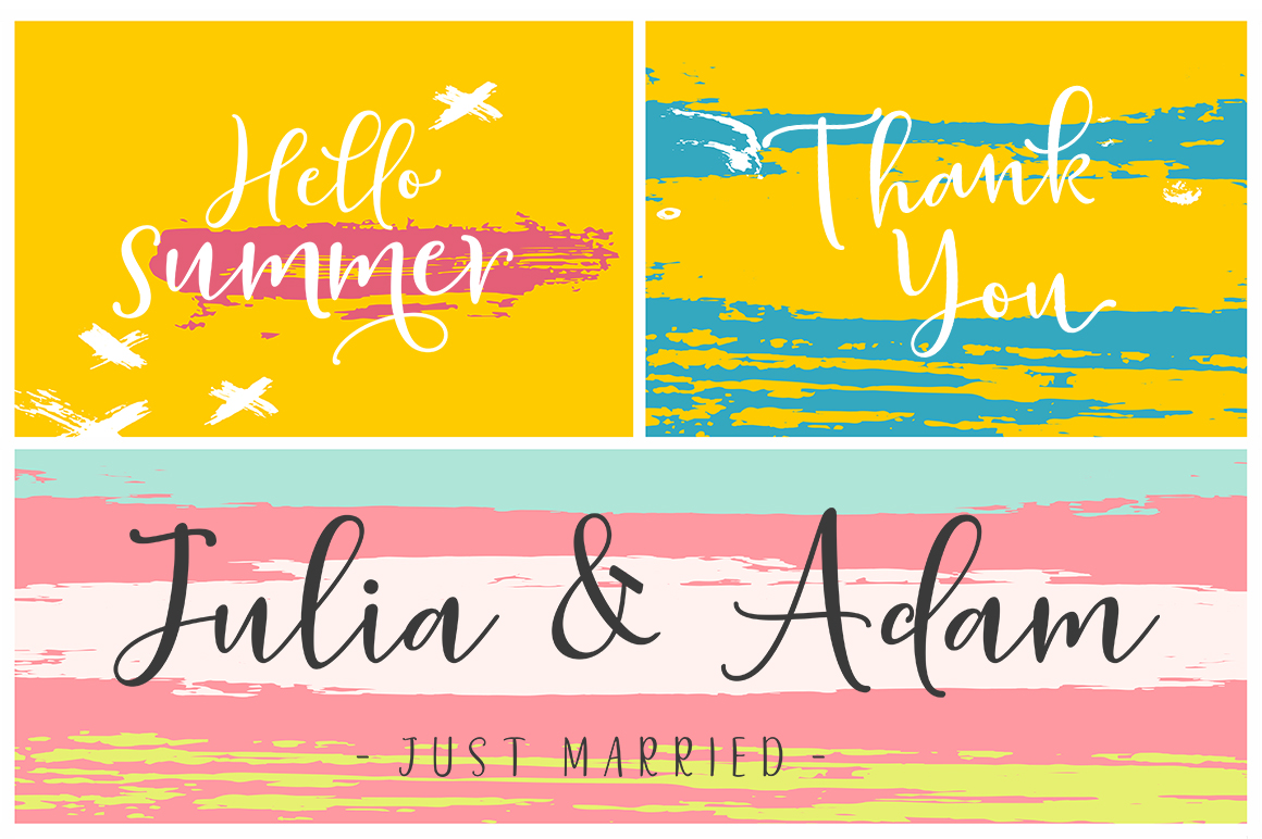 Sherilyn Script FONT DUO example image 7