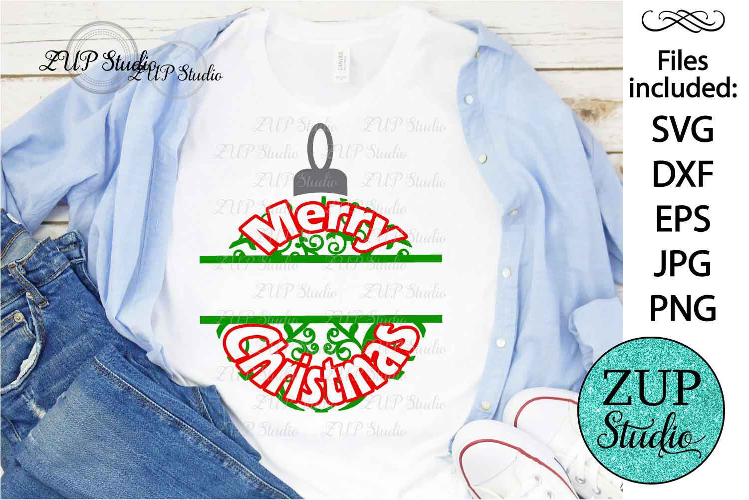 Merry Christmas cutting files svg 31 example image 2