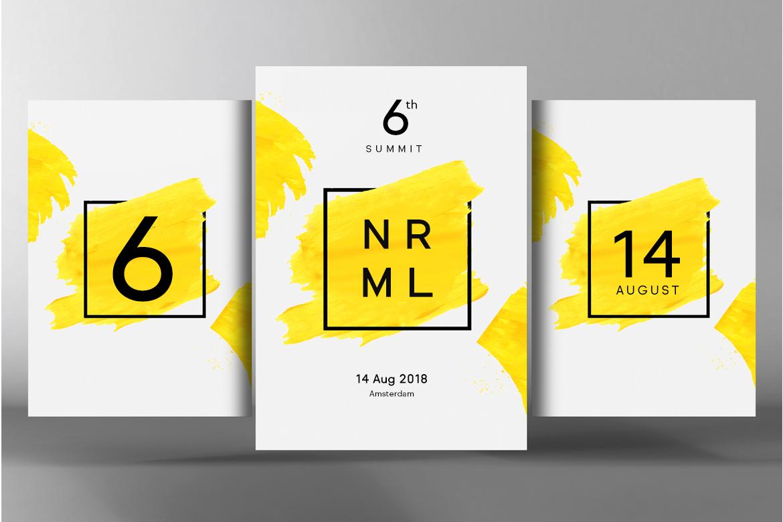 NORMAL - Minimal Typeface & WebFonts example image 5