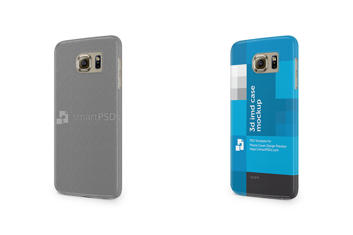 Samsung Galaxy S6 3d IMD Mobile Case Design Mockup 2015 example image 2