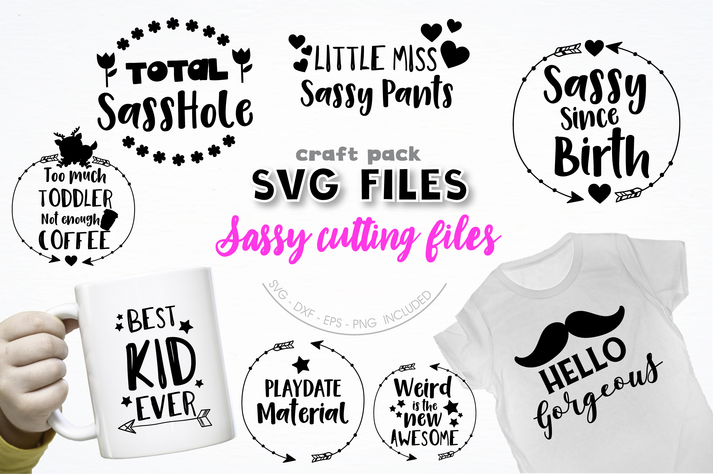 AMAZING SVG AND GRAPHIC BUNDLE- 550 in 1 example image 13