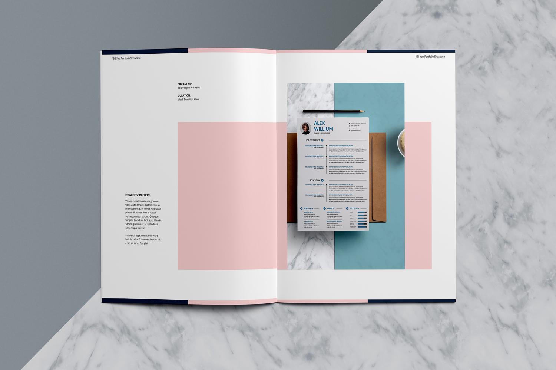Designer Portfolio-48 Pages example image 12