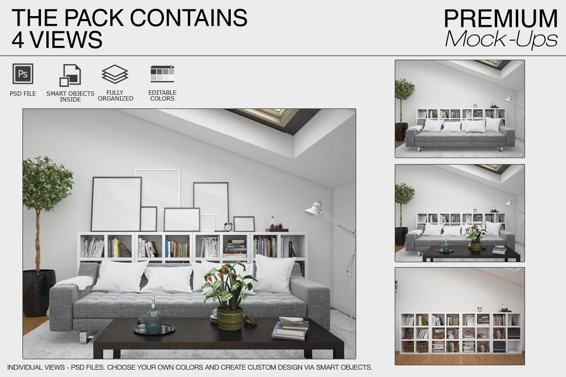Pillows & Frames Set example image 7