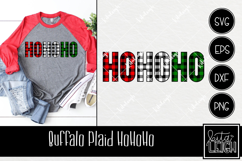 Buffalo Plaid Christmas Bundle SVG example image 7