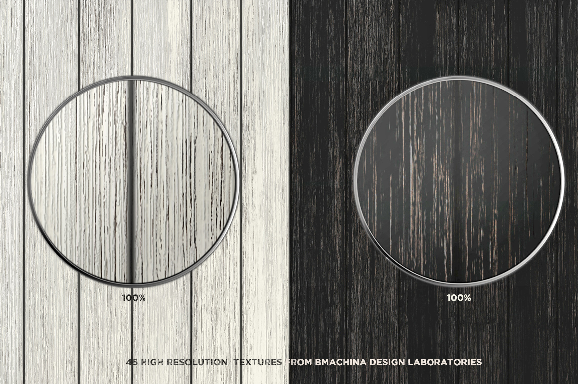 Painted Wood Textures example image 4