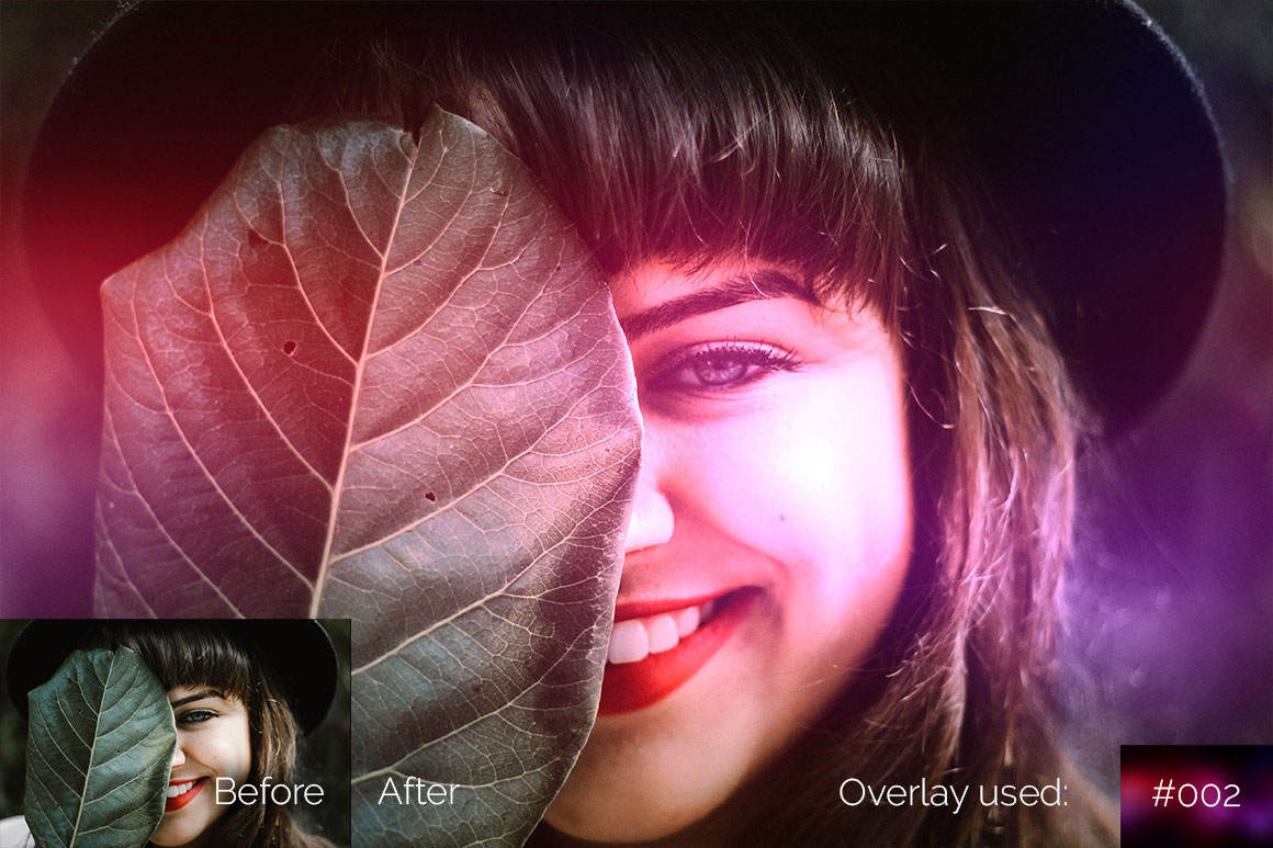 119 Colorful Light Leaks Photo Overlays example image 9
