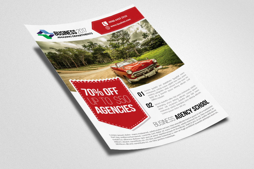 Landscaper Flyer Templates example image 3