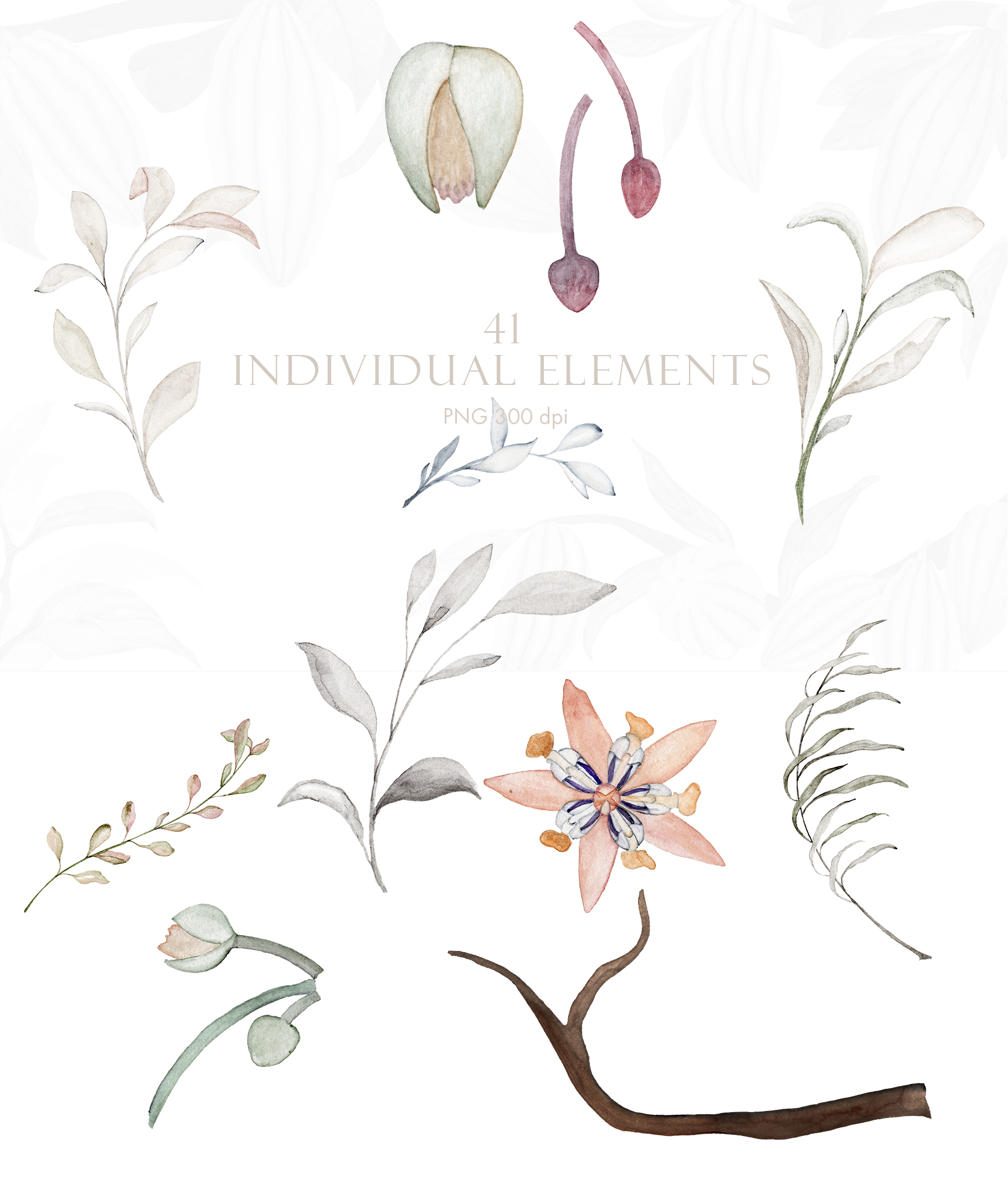 Wonderful Cocoa - Watercolor Clipart Set example image 7