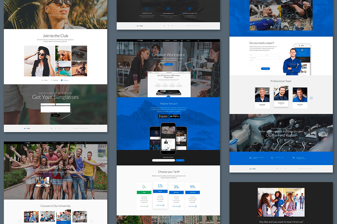 The Pear Starter Web UI Kit example image 8