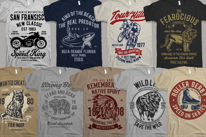 25 Premium Tshirt Designs Big Bundle 5 example image 4