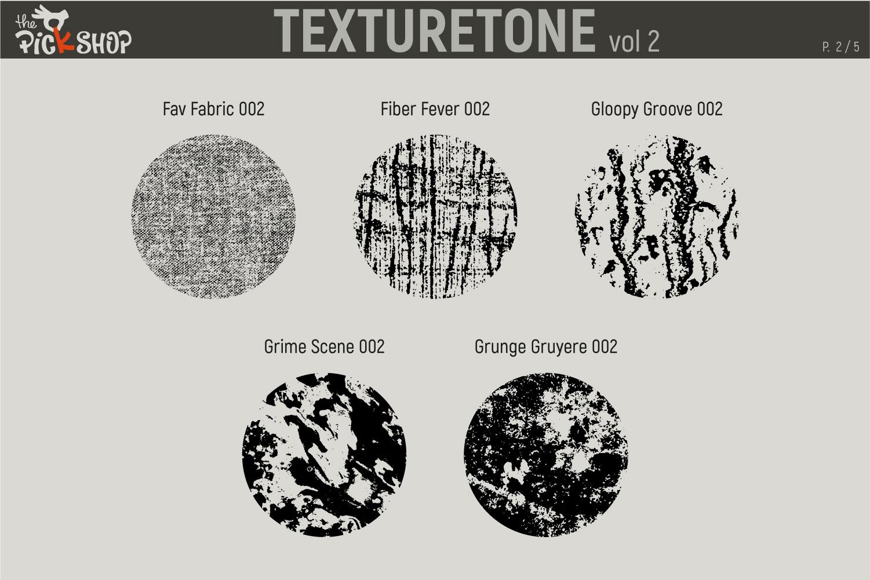 Texturetone Promo Pack. Vol 01 and Vol 02 example image 8