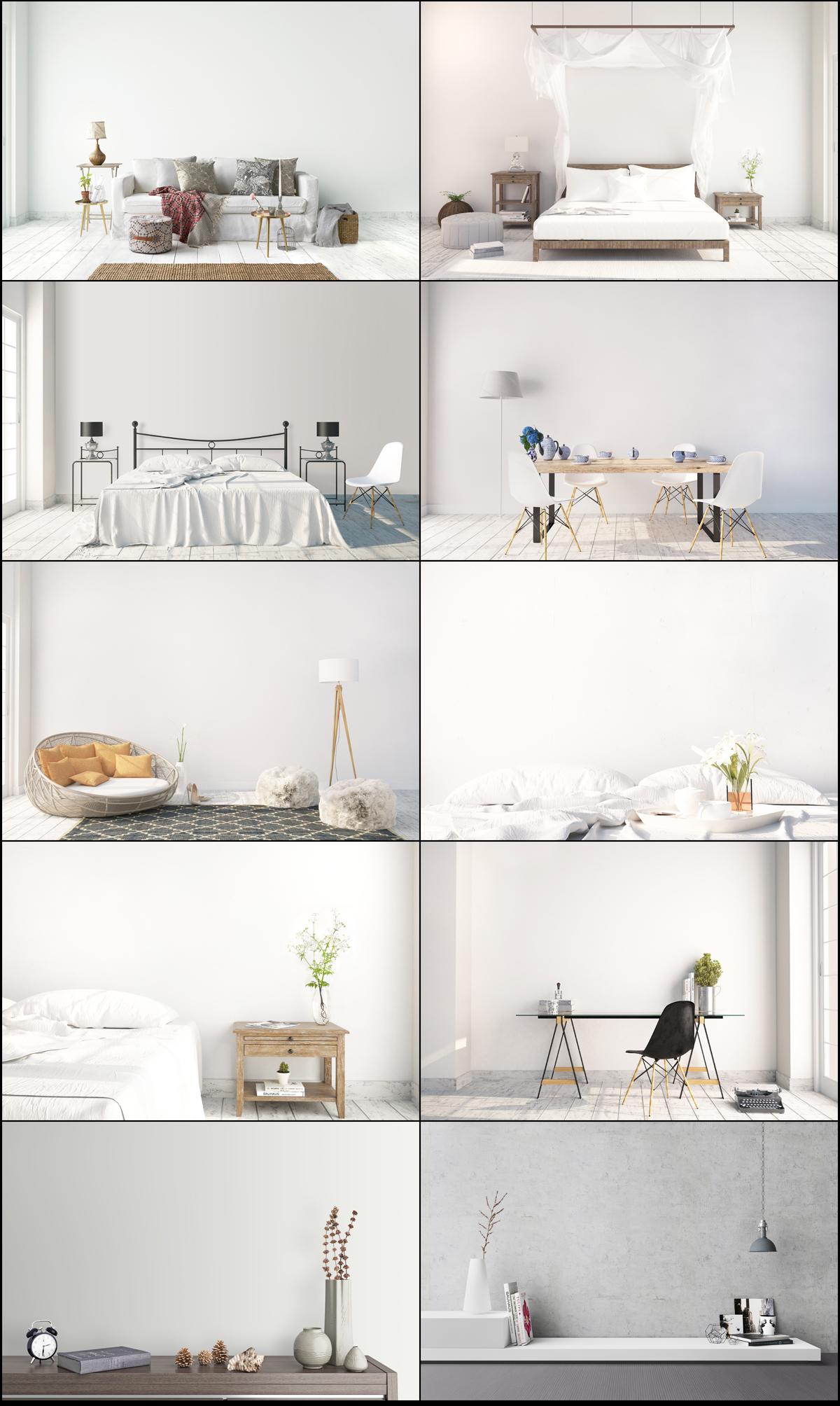 interior mockups bundle, stock photo example image 2